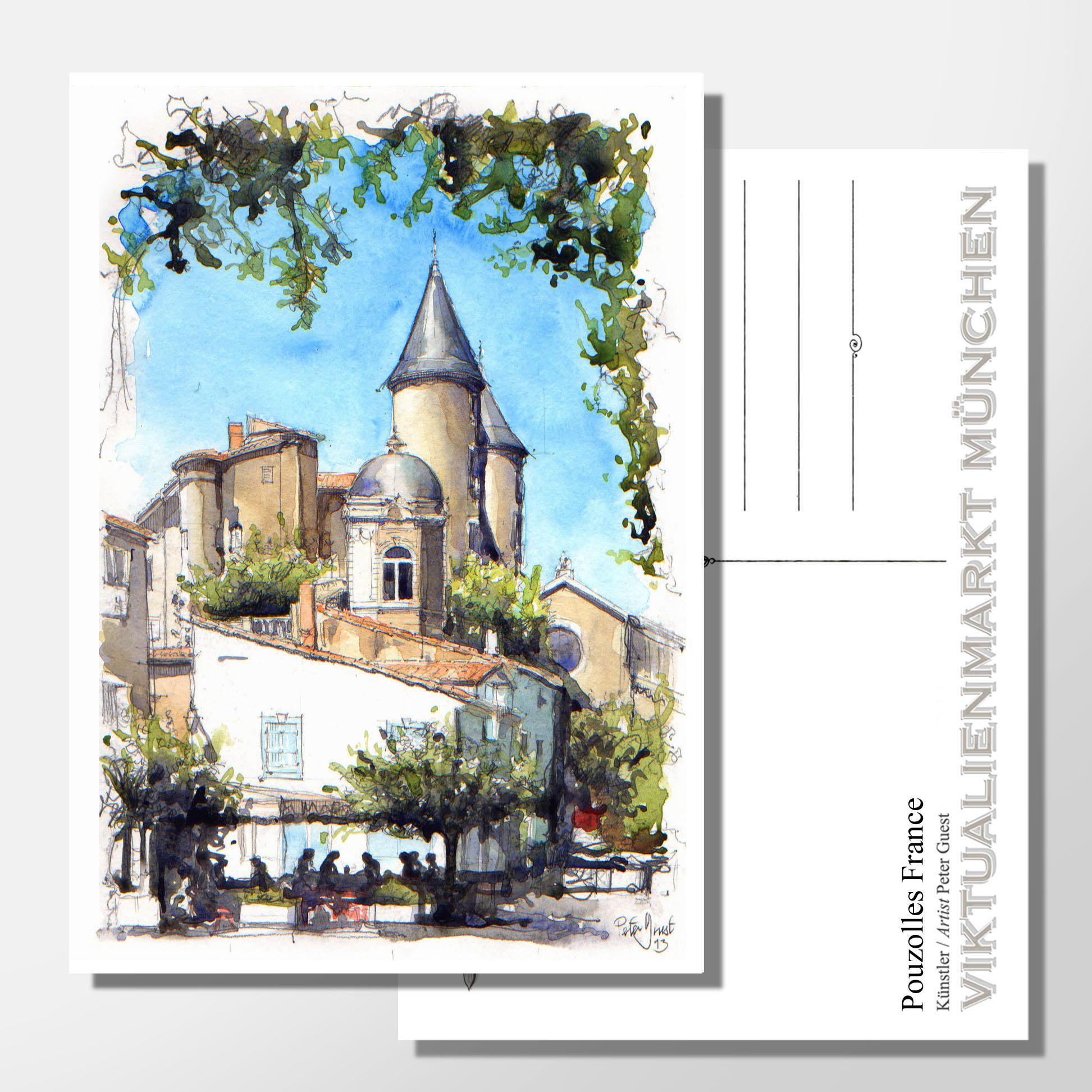 Pouzolles France - Peter Guest